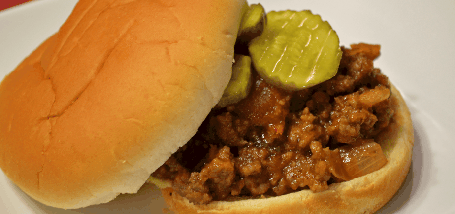 Good 'nuff for Company Sloppy Joe