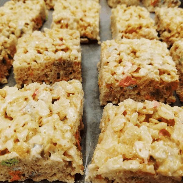 Marshmallow Madness Crispy Rice Treats