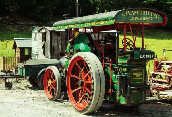 steam driving experience lake district