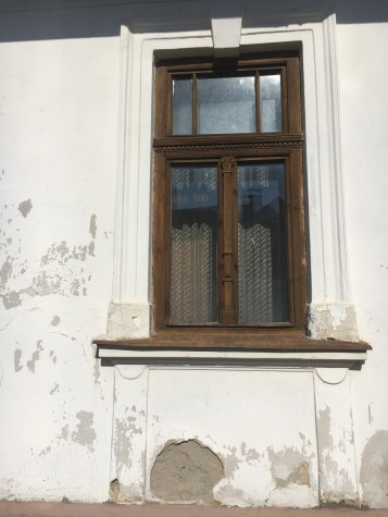 Detail of the window