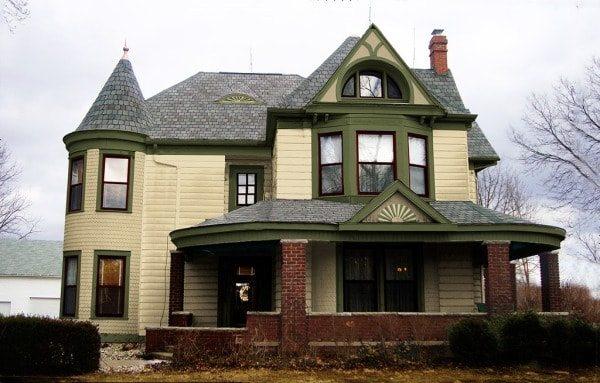 Victorian Home Colors Schemes