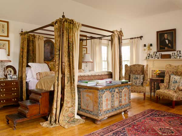 Colonial Revival Bedrooms With An Old World Look