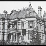 Old picutre of D.C. Cook mansion