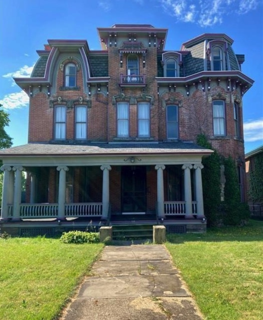 Under $150K Sunday – c.1881 Second Empire Home For Sale in Greenville PA $150K