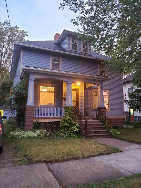 Bay City Michigan historic house under $75K