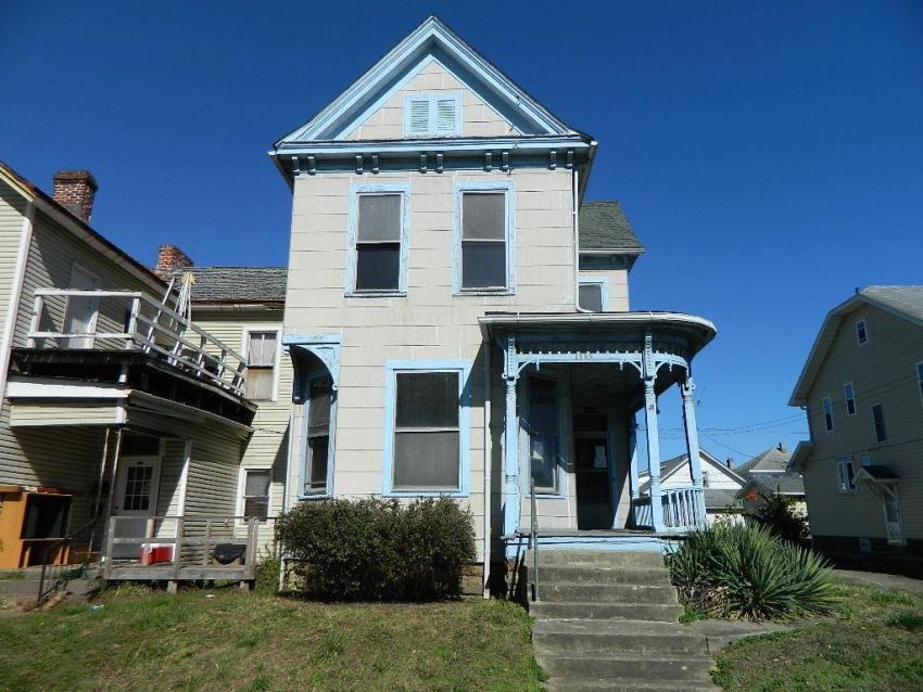 Portsmouth OH fixer upper foreclosure
