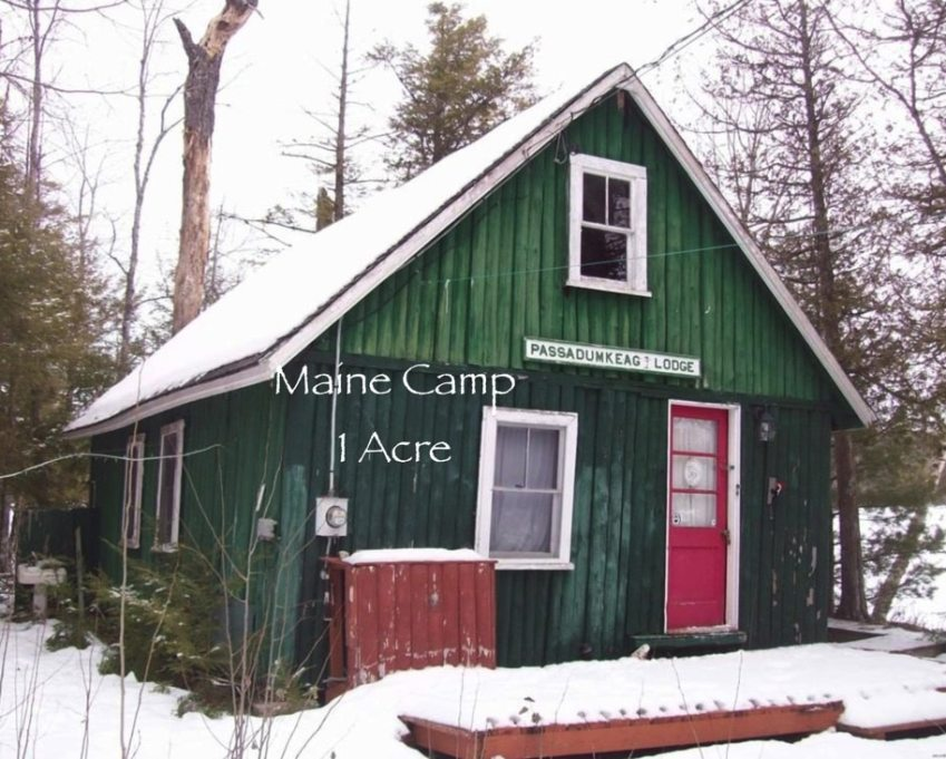 Maine camp for sale