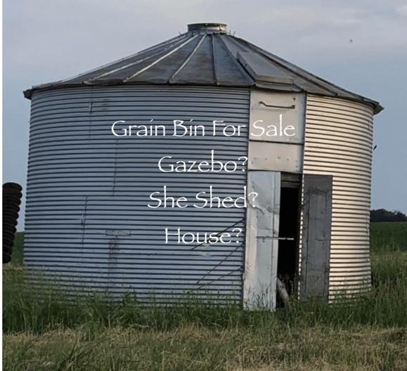 grain bin for sale