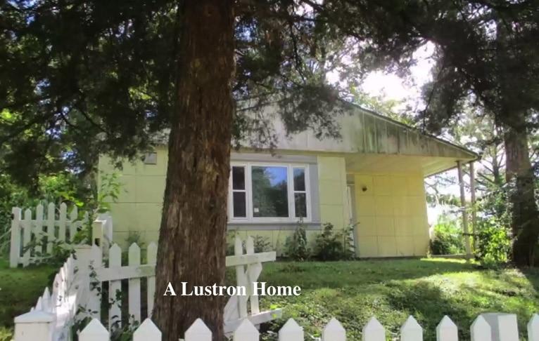 Lustron home