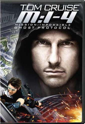 Mission Impossible Ghost Protocol DVD 2011