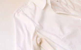 Как удалить пятна пота с белой одежды