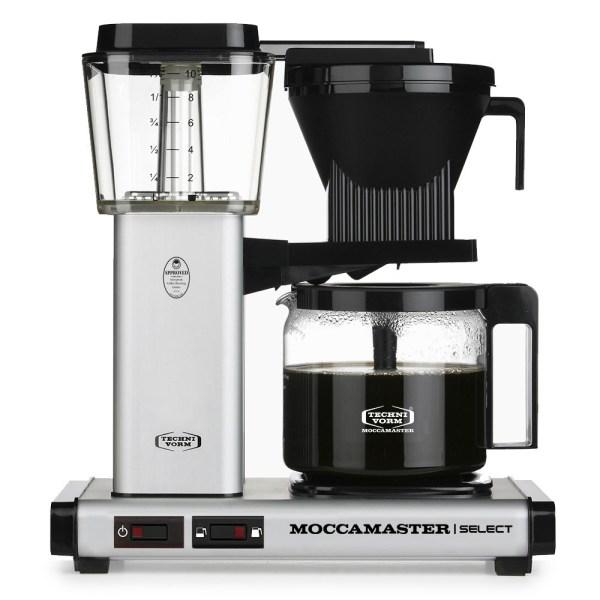 KBG Select Matt Silver Moccamaster Selects - Filtre Kahve Makinası