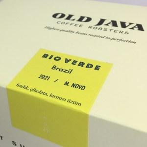Brezilya Rio Verde Kahve Çekirdeği