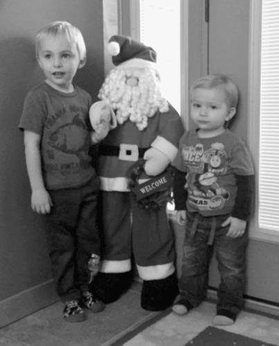 Deedrick boys Christmas 2016