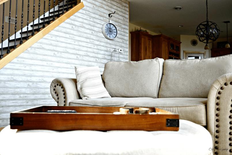 Before Nailhead sofa