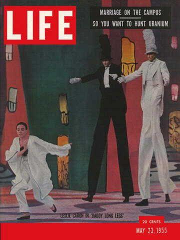 life magazine may 23 1955 actress leslie caron