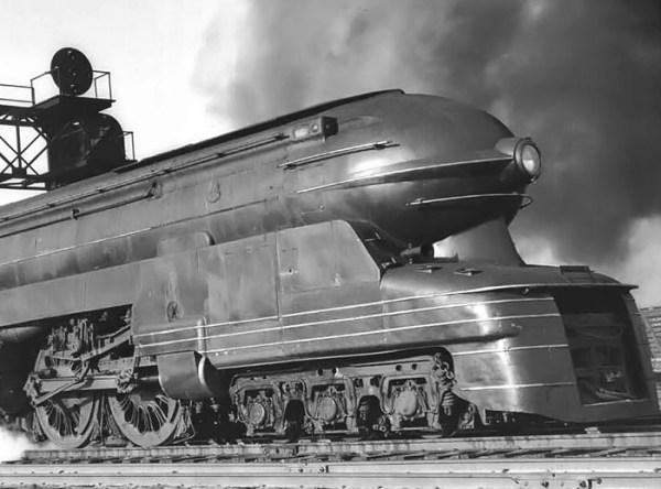 Pennsylvania Railroad 6446 S1 Locomotive Old Machine