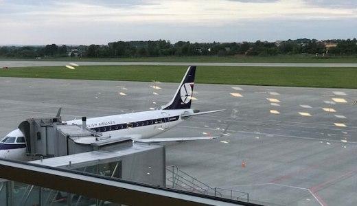 帰国もポーランド航空のプレミアムエコノミーで!!