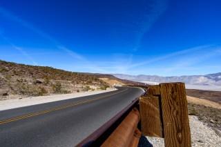 Road West from Las Vegas