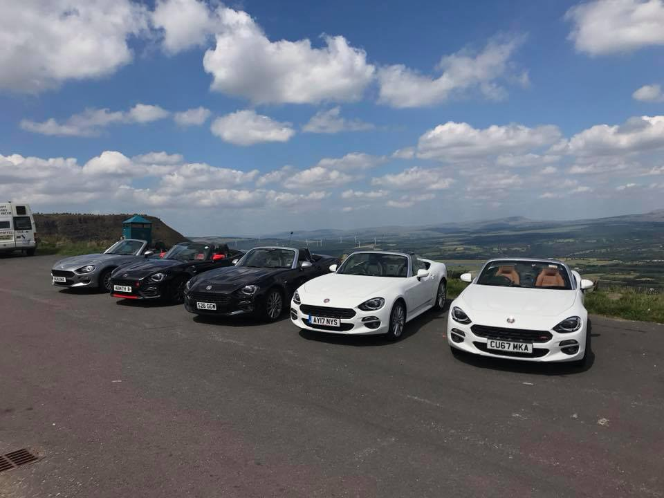 South West UK Fiat/Abarth 124 Spider Group Inaugural Meet Up