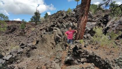 Lava Flow Trail. Hiking Flagstaff, Arizona. Oldmanhiking.com Rusty Ward