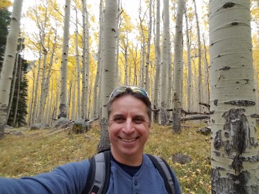 Fall Hiking in Lockett Meadow, Flagstaff, Arizona by Rusty Ward