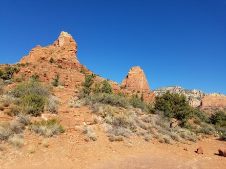 Hiking Trail in Sedona, Arizona Desert. Red Rock.