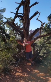 Hiking Sedona Arizona Desert Rusty Ward Old Man Hiking