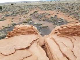 Hiking Arizona Wukoki Ruins Flagstaff