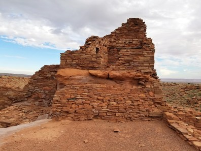 Hiking Wupatki Ruins in Flagstaff Arizona