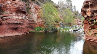 Hiking in Sedona #arizona #desert Slide Rock