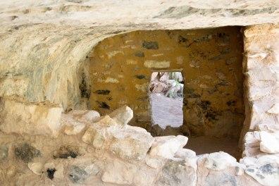 Walnut Canyon Dwelling Door