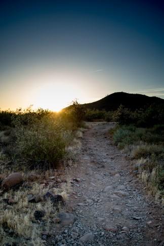 Hiking Arizona Trail Desert Phoenix
