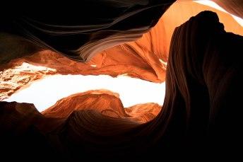 Lower Antelope Canyon Burning