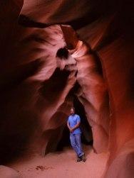 Lower Antelope Canyon Rusty 2