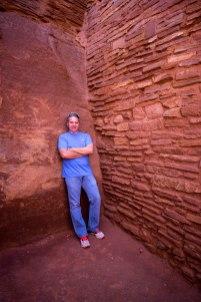 Hiking Arizona. Wupatki Ruins Flagstaff Old Man Hiking