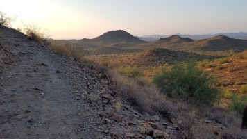 Desert Vista Trail Phoenix Arizona Hiking Rusty Ward