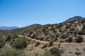 Go John Trail Cave Creek Regional Park Hiking Arizona Rusty Ward