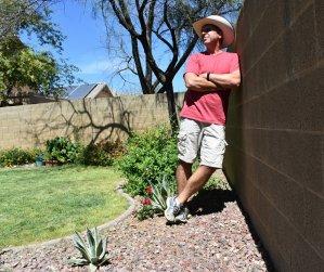 Rusty Ward Old Man Hiking Arizona