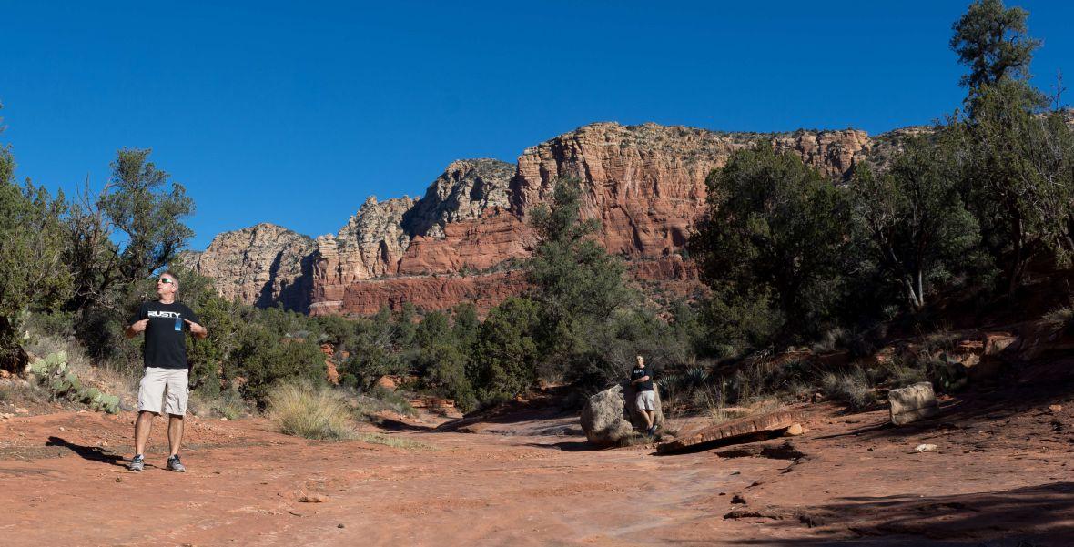 Sedona Vortex Arizona Rusty Ward Hiking Hike