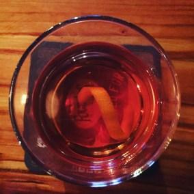 Sazerac cocktail at Harney Street Tavern