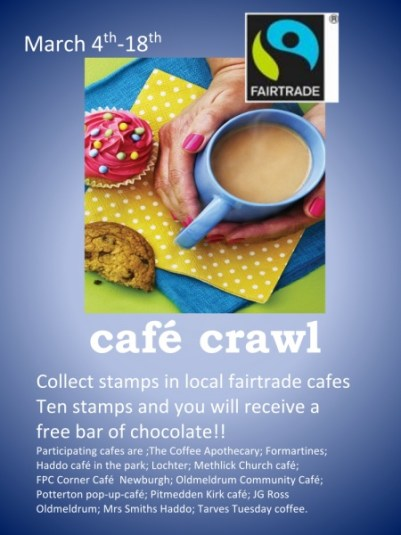 cafe crawl promotion poster 2017