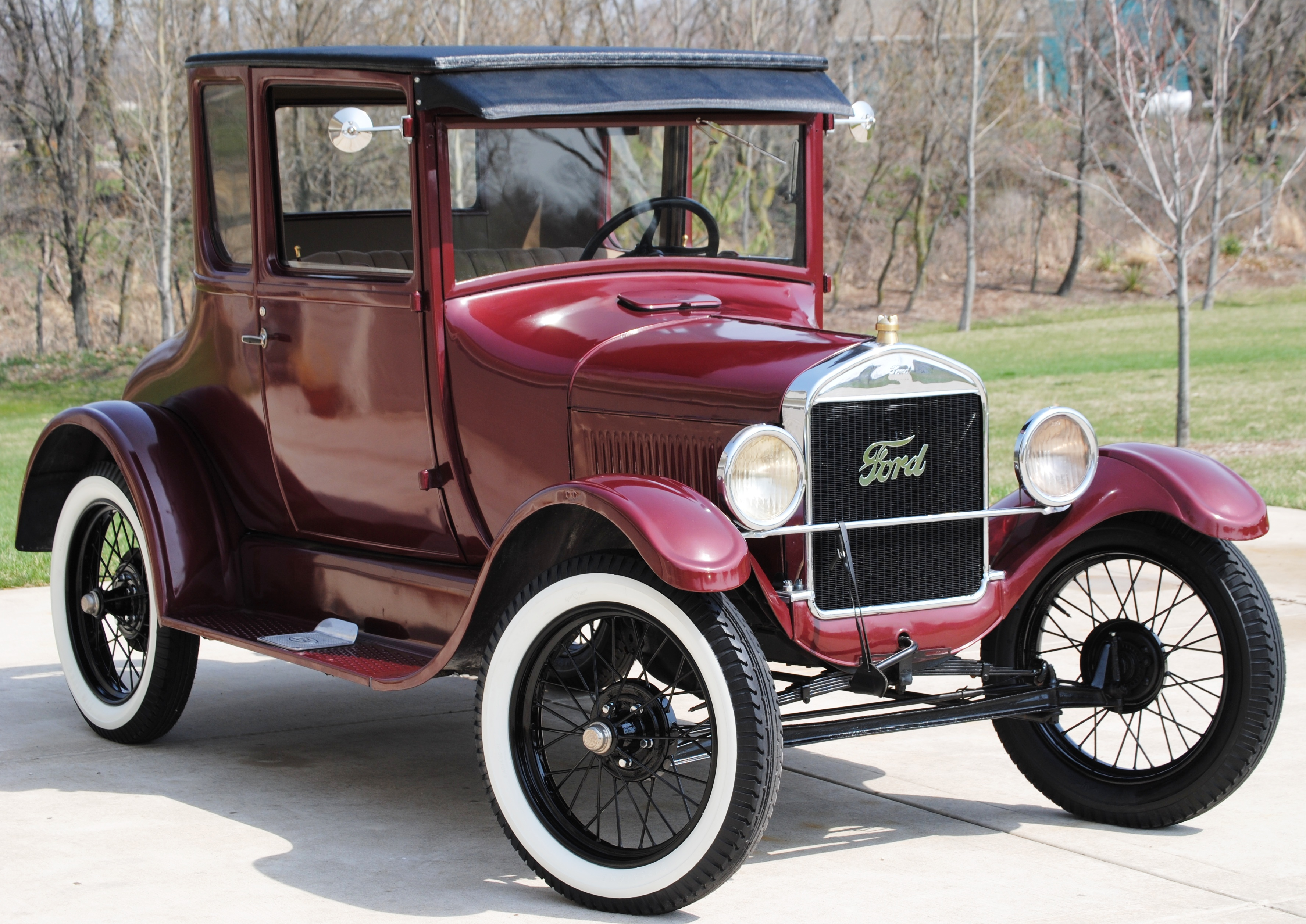 Model T Coupe Pinky