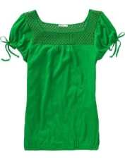 Women's tall green clothing jersey tops