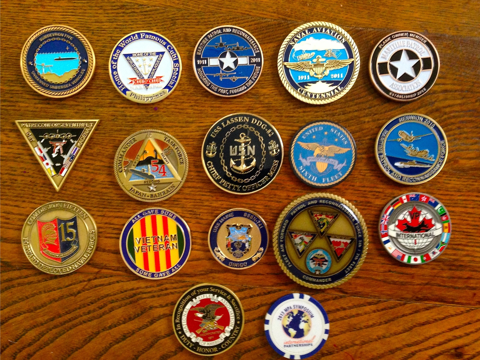 Challenge Coins    - Nobody Asked Me