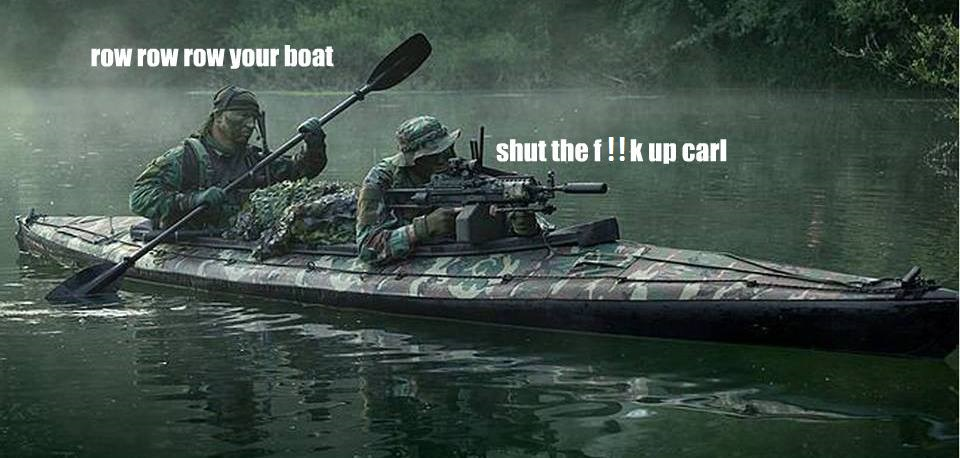 Tactical canoe