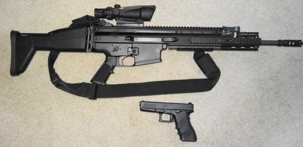 SCAR Glock