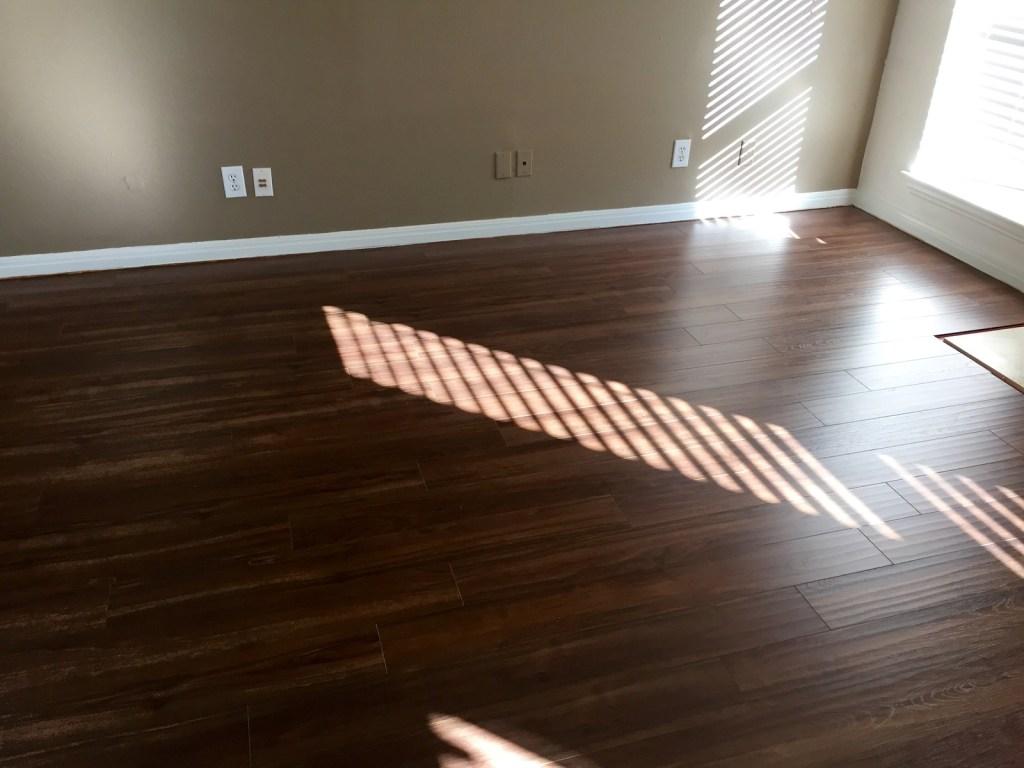 floor is done