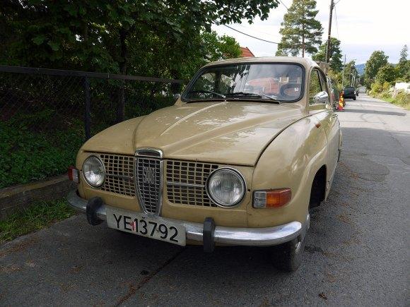 1972 Saab 96 v4 classic car