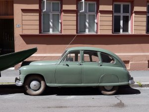 1950 Standard Vanguard Phase I Saloon